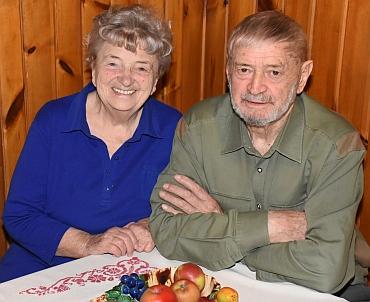 S manželkou Edith