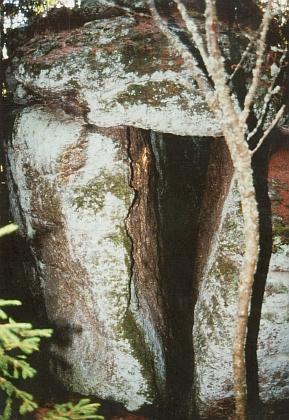 Na hoře Kamenec při Pohoří na Šumavě