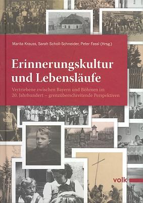 Obálka (2013) knihy, zachycující i její životní osudy, vydané v mnichovském nakladatelství Volk-Verlag