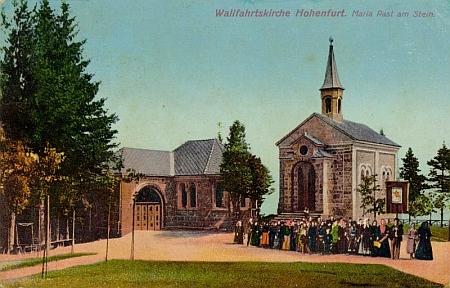 Poutní kaple Maria Rast nad Vyšším Brodem