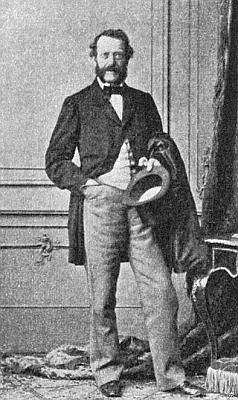 Anton hrabě Auersperg, u něhož Mörathův otec působil jako osobní lékař a který je znám spíše pod svým literárním pseudonymem Anastasius Grün