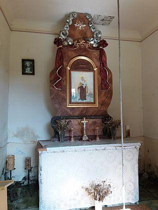 Kaple nad rodnou Dobrou Vodou u Záblatí