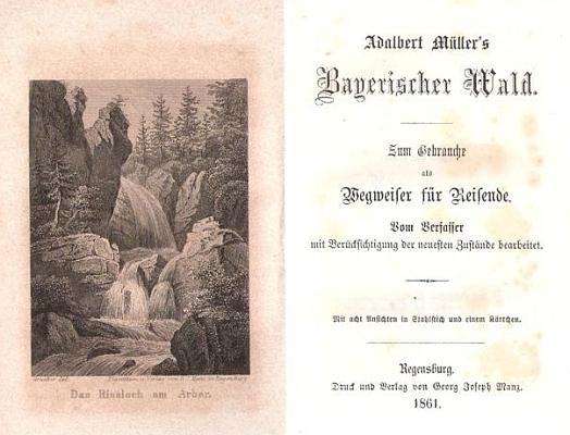 Frontispis a titulní list vydání z roku 1861