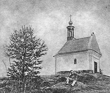 Kaple na Červeném vršku u Pěkné