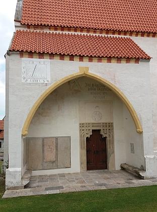 Kostel Stětí sv. Jana Křtitele v Zátoni (viz i Elfriede Ullmannová)