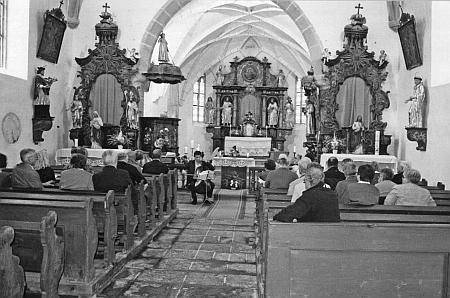 Koncert v kostele v roce 2014