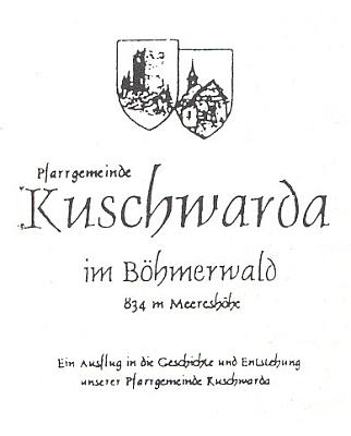 Obálka (1996) knihy o jeho rodné obci, vydané k 50. výročí vyhnání v Tittlingu (nakl. Dorfmeister)