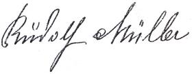 Jeho podpis v pamětní knize obce Záhvozdí...