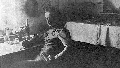 Jako c.k. nadporučík na snímku z října roku 1912