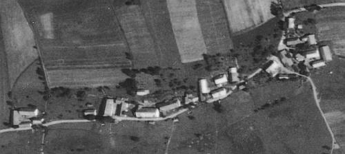 Pláně na Šumavě na leteckých snímcích z let 1949 a 2008