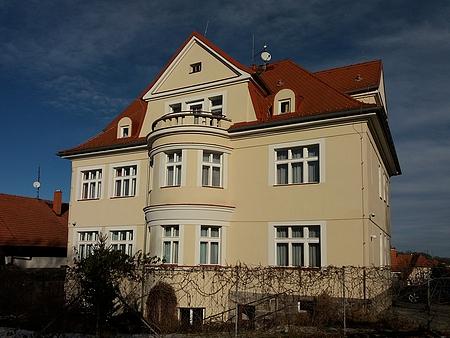 Vila v českokrumlovské Horní Bráně, kde žil
