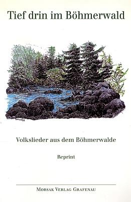 Jeho kolorovaná kresba zdobí obálku reprintu (1999, Morsak Verlag Grafenau) sbírky lidových písní ze Šumavy, původně vydané v roce 1945