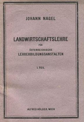 Obálka jedné z jeho učebnic (1913)