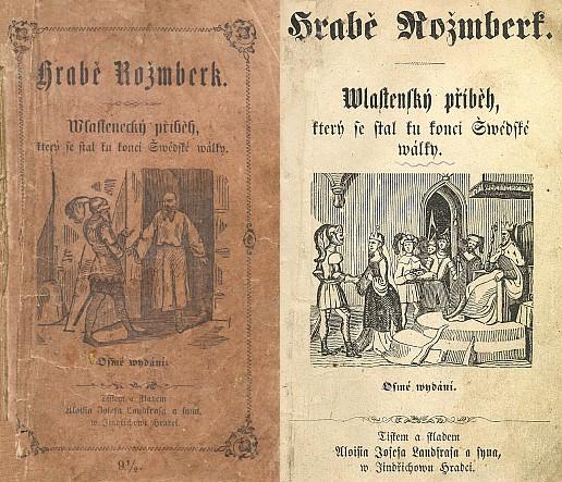 Obálka a titulní list osmého vydání překladu její předlohy u jindřichohradeckého Landfrase