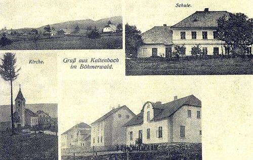 Nové Hutě, pohlednice