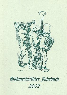 Obálka krajanského kalendáře, kde znovu přetiskli starý text z časopisu Waldheimat