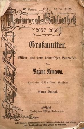Obálka německého překladu jejího nejslavnějšího díla