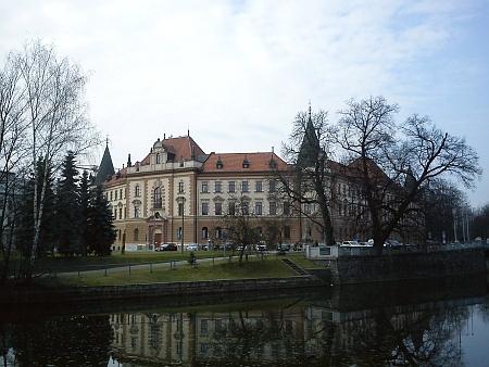 Justiční palác v Českých Budějovicích