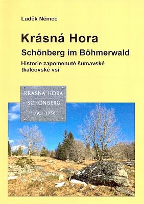 Obálka jeho knihy o Krásné Hoře (2015)