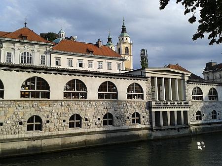Rodná Lublaň, kde jeho otec učil na německém gymnáziu