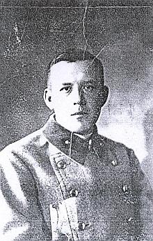 Snímek z nasazení v první světové válce