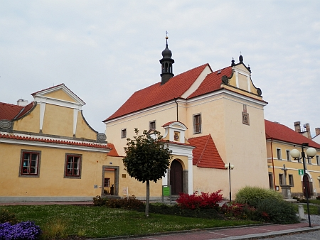 Kostel sv. Alžběty v rodném Protivíně