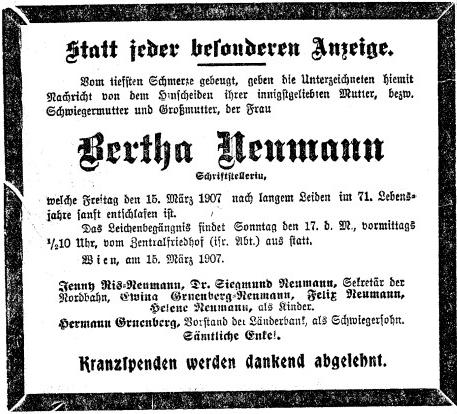 ... a parte ve vídeňském listu