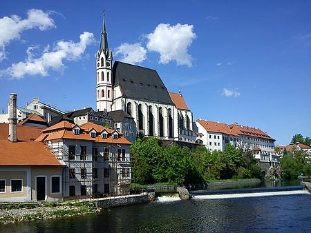 Kostely sv. Víta a sv. Jošta v Českém Krumlově