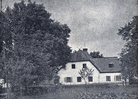 Při jednom svém textu v krajanském časopisu připomněl Neuwirth i starou lesovnu v Křišťanově (Miesauer&nbspHerrschafthaus), která padla za oběť požáru v roce 1901 nebo 1902
