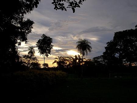 Západ slunce v Urubichá