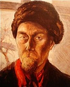 Jeho autoportrét z roku 1944