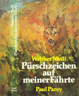 Obálku (1978) své knihy loveckých vzpomínek z nakladatelství Paul Parey si vyzdobil sám vlastní signovanou malbou
