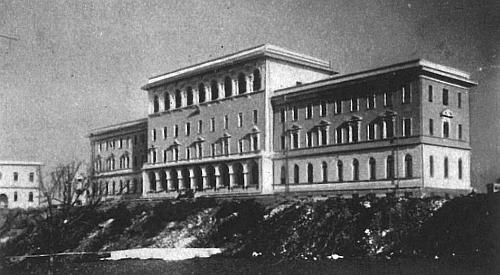 Papežská kolej Nepomucenum v Římě, kde studoval