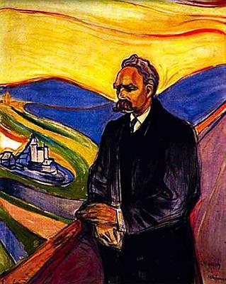 Jeho portrét, který roku 1906 vytvořil EdvardMunch
