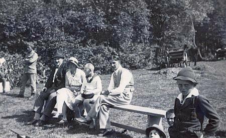 S rodiči roku 1930