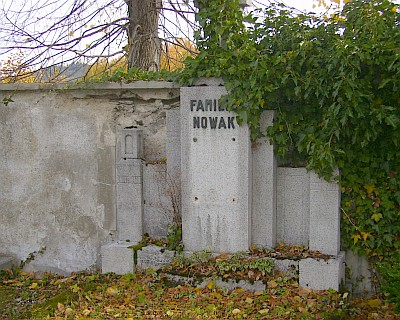 Hrob rodiny Nowakovy v Kašperských Horách