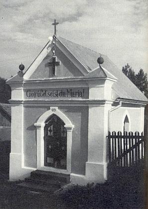 Mariánská kaple v Bělé nad Radbuzou