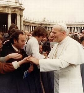 S papežem Janem Pavlem II.