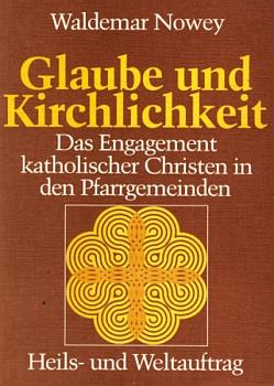 Obálka (1983) jeho knihy o angažmá katolíků ve farních obcích (nakladatelství Hofmann, Augsburg)