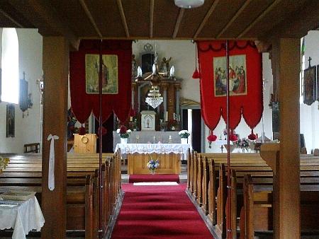 Kostel Srdce Ježíšova v Nových Hutích