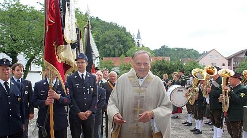 V roce 2017 při oslavě 50 let kněžství v Bellenbergu