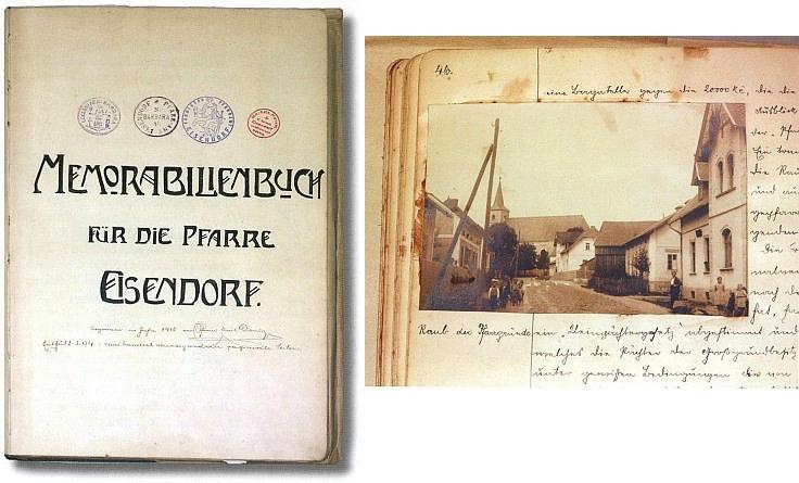 ... i pamětní kniha zdejší fary, uložená ve fondu Státního okresního archívu v Domažlicích
