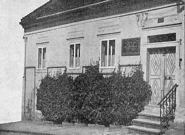 Dům, ve kterém v Kaplici zemřel...