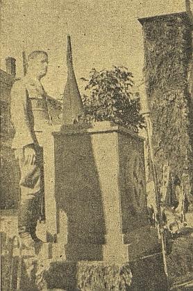 """Jako řečník na """"Kriegskreiswoche der NSDAP""""  v Kaplici v létě 1944"""