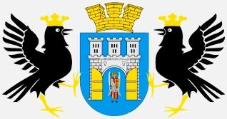 Znak města Stanislau, dnes Ivano-Frankivsk, kde se v říjnu roku 1902 Opdenhoff narodil