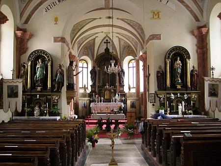 Kostel sv. Jakuba Většího v Benešově nad Černou