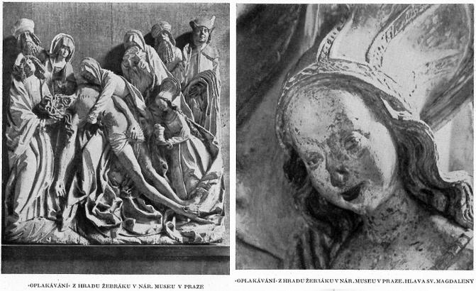 Dvě fotografie z jeho článku v časopise Dílo