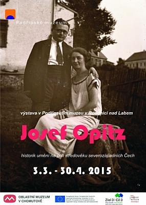 Plakát (2015) jeho výstavy v Podřipském muzeu...