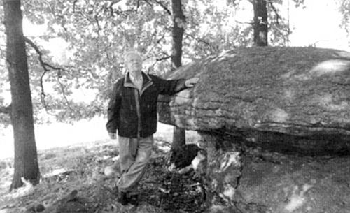 """Při """"kameni svého dětství v Trutmani"""""""
