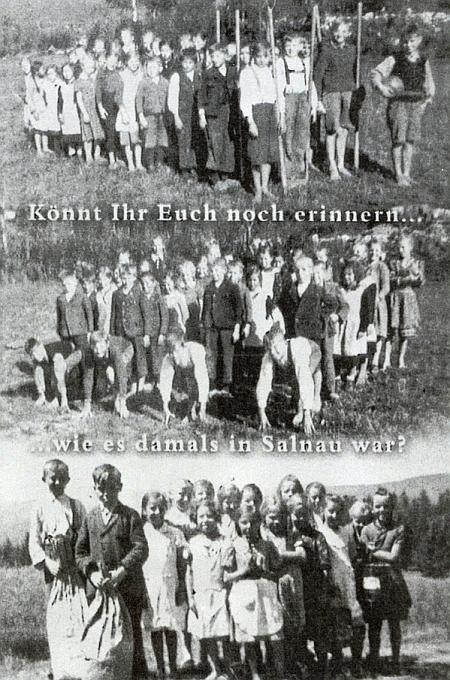 Želnavské děti ročníku narození 1931 na jejích snímcích